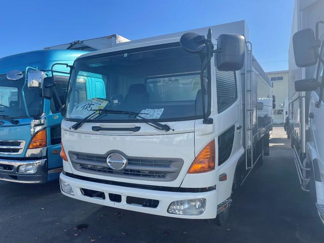 日野  4t ワイド ファームダンプ 極東開発新品架装 5.3m荷台長