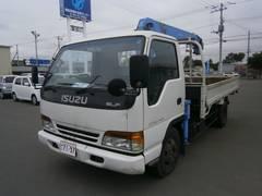 エルフトラック2t ワイド 4段クレーン ラジコン 3.7m