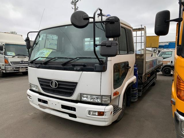UDトラックス 5.5t 3段クレーン ラジコン・フックイン 5.5mボデー