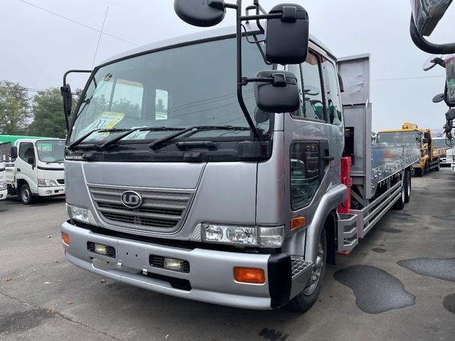 UDトラックス コンドル  増tツーデフ4段クレーン ラジコン 8.9m荷台長