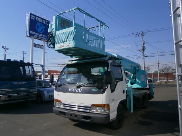 いすゞ 21.2m 高所作業車 アイチSK210