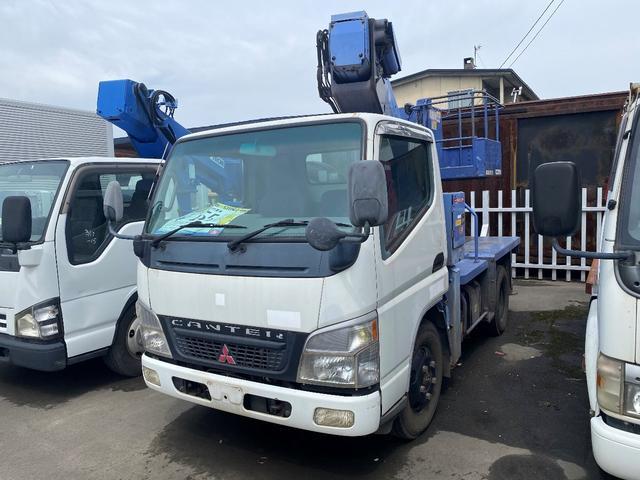 三菱ふそう 高所作業車 タダノ製9.9m仕様 運転席エアバッグ
