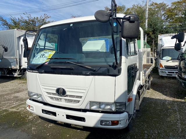 UDトラックス  3.45t セーフティローダー 搬送車 ウインチ付ラジコン付
