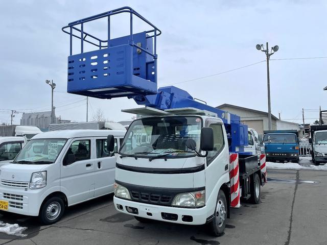 日野 デュトロ  高所作業車 アイチ製12.5m