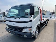 ダイナトラック 2tワイド搬送車 極東開発フラトップ