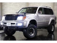 ランドクルーザー100VX×ディーゼル×4WD×本州仕入×リフトUP×新品夏タイヤ