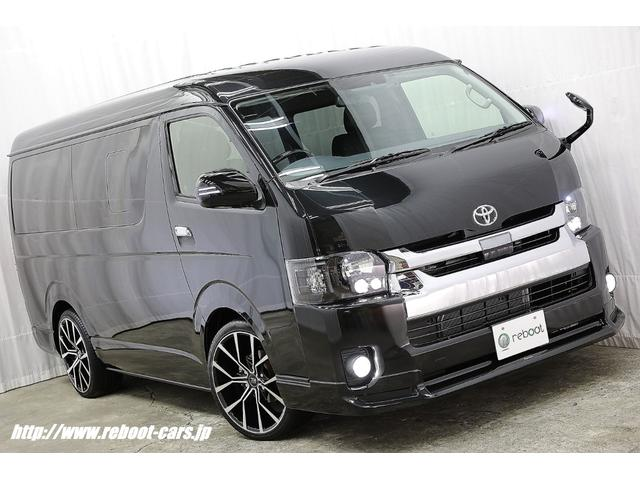 トヨタ ワゴンGL 新車コンプリートデモカー 20インチ・ローダウン
