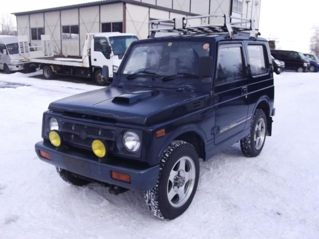 スズキ 4WD ターボ オートマ JA11V 本州仕入 パワステ