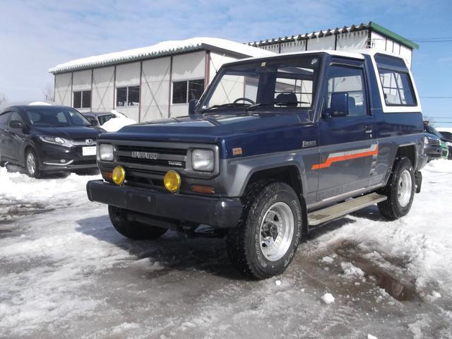 ダイハツ ターボ EX 4WD 5速マニュアル ディーゼルターボ
