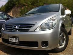 プレサージュV 4WD パワスラ バックモニター 1年間走行無制限保証付