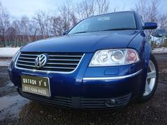 VW パサートワゴンV6 4モーション HDDナビ ETC 保証付