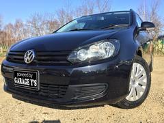 VW ゴルフヴァリアント1.4TSI FFトレンドライン Tチェーン ナビ 保証付