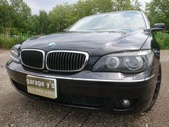 BMW750Li 革 パワーシート 純正HDDナビ 保証付