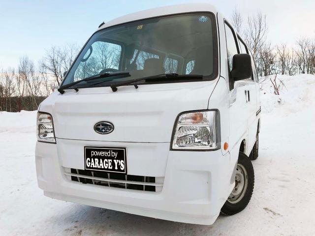 スバル VB 4WD 1年間走行無制限保証付