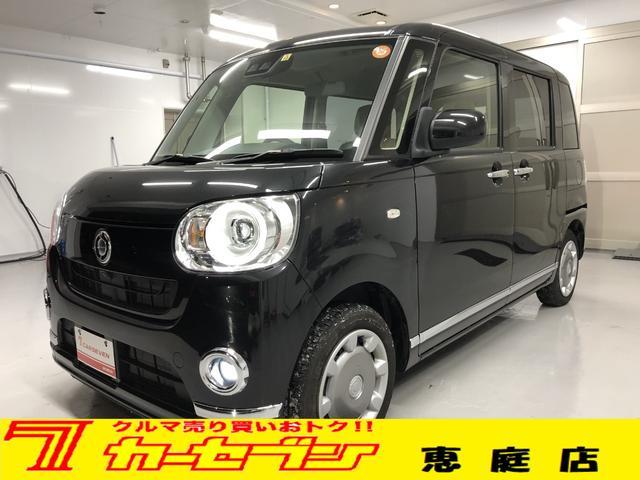 ダイハツ Gメイクアップ SAIII 4WD 新品ナビ 両側電動Sドア