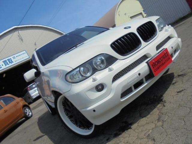 BMW 3.0i スポーツPK 社外22インチアルミ 社外マフラー