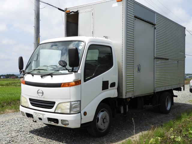 日野 パネルバン 2t車