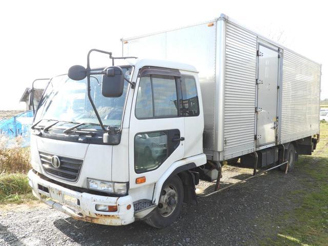 UDトラックス アルミバン 箱車 パワーゲート ターボ