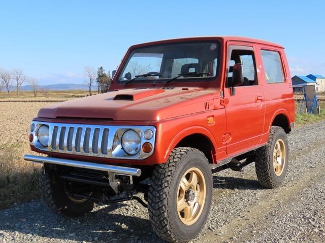 ジムニー ワイルドウインド 4WD リフトアップ ターボ 寒冷地仕様