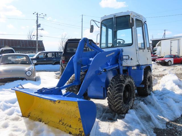 日本その他 ホイールローダー 除雪機