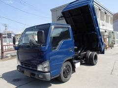 タイタントラック強化ダンプ ディーゼル AC付き 全塗装済