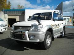 ランドクルーザープラドTXリミテッド ディーゼルターボ 4WD DVDナビ