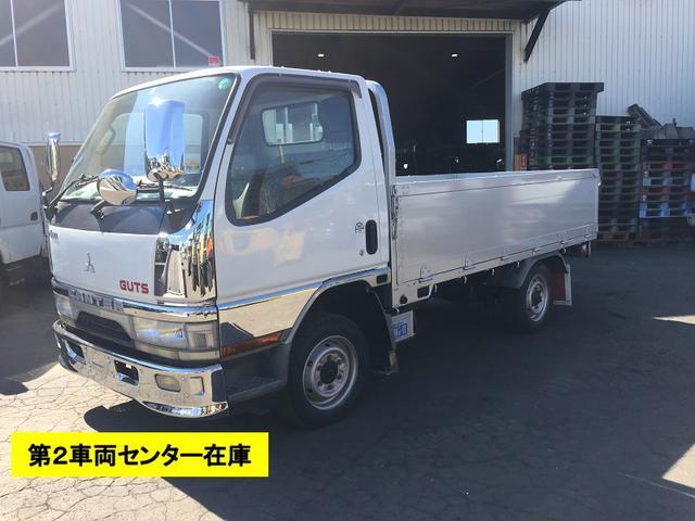 三菱ふそう キャンターガッツ 4WD 中古 平ボディ 1.5t