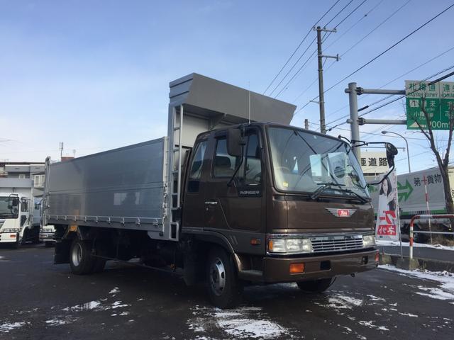 日野 中古 ターボ ワイド ファームダンプベース車