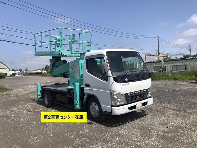 三菱ふそう 中古 スーパーデッキ 高所作業車 タダノ12m