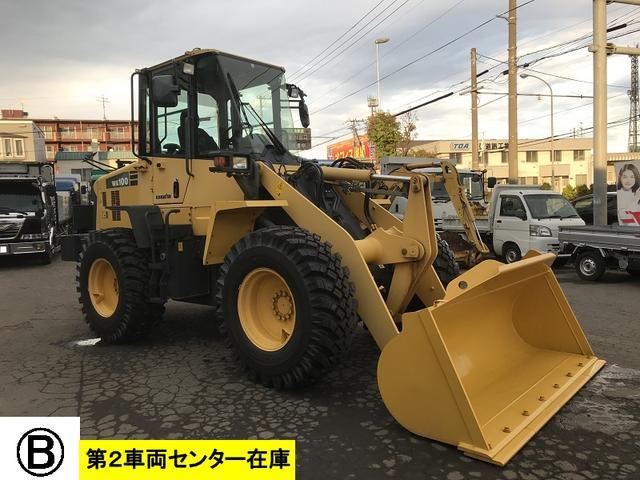 日本その他 日本  コマツ 中古 ホイールローダ WA100-6