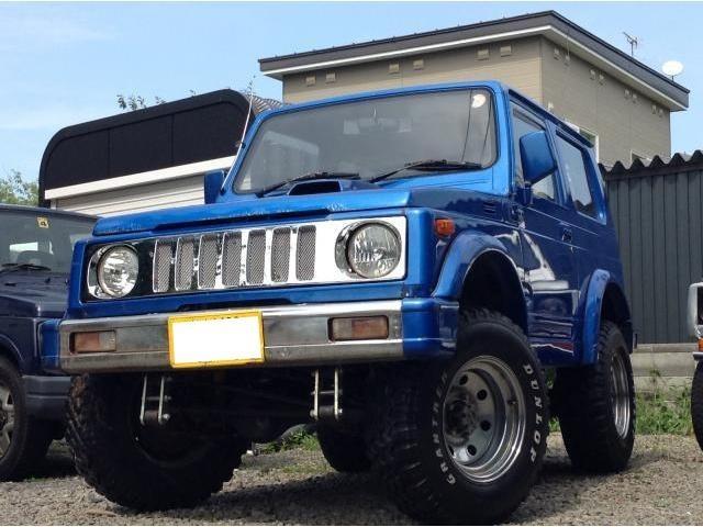 スズキ ジムニー 4WD リフトアップ 大系タイヤ メッキグリル