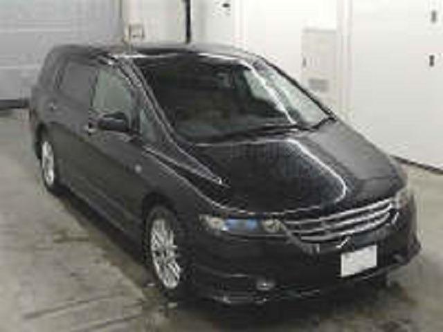ホンダ アブソルート 4WDサンルーフ 黒革 1年保証付 道内不使用