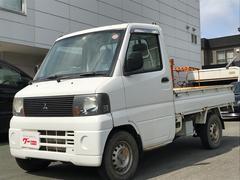 ミニキャブトラック4WD パワステ付 エアコン付