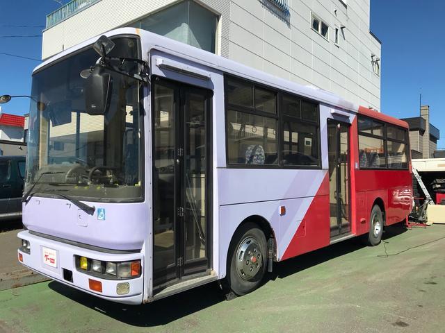 日産ディーゼル バス エアコン AT 58名乗り