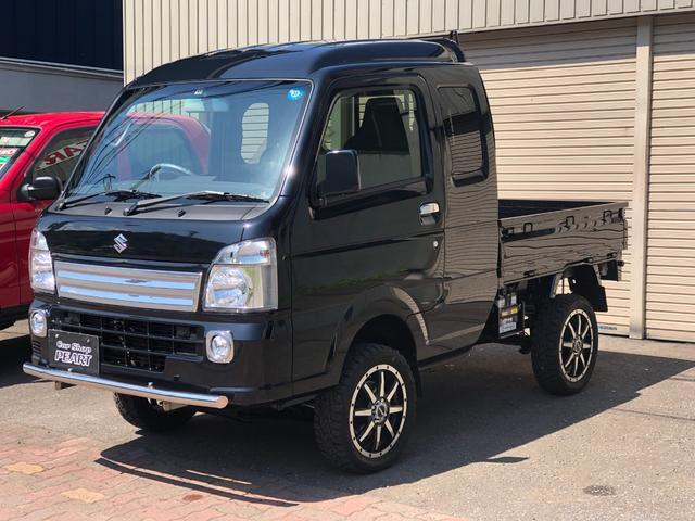 スズキ X 4WD 未使用車 A/T 4インチリフトアップ 社外マフラー フォグライト 15インチアルミ