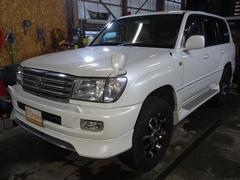 ランドクルーザー100VXリミテッド1ナンバー リフトアップ 4WD ナビ HID
