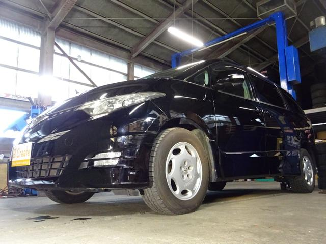 トヨタ アエラス 4WD HDDナビ フルセグTV Bカメラ 両側パワスラ フリップダウンモニター