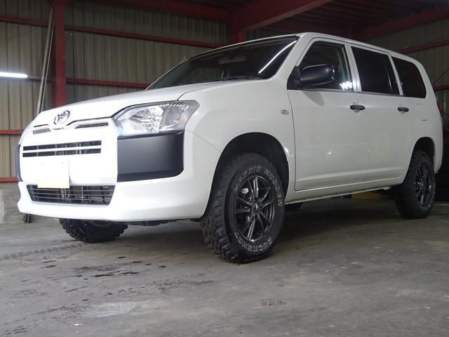 トヨタ UL 4WD 新品フィール製2インチリフトアップキット マッドタイヤ キーレス ETC 修復歴なし 電動格納