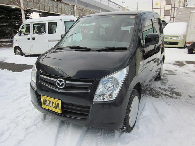 マツダ XG 4WD ABS エンスタ 夏冬タイヤ付