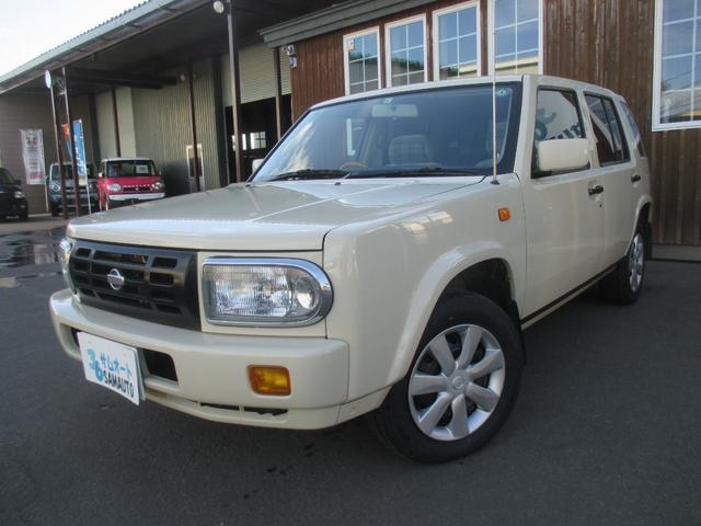 日産 タイプI 4WD&社外オーディオ&ウッドパネル&オートマ&走行108000キロ