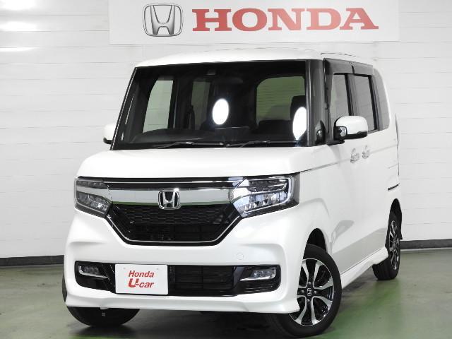 ホンダ N-BOXカスタム G・Lホンダセンシング サポカーSワイド ETC 4WD