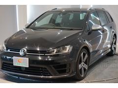 VW ゴルフRヴァリアントベースグレード 4WD 純正HDDナビ スマートキー