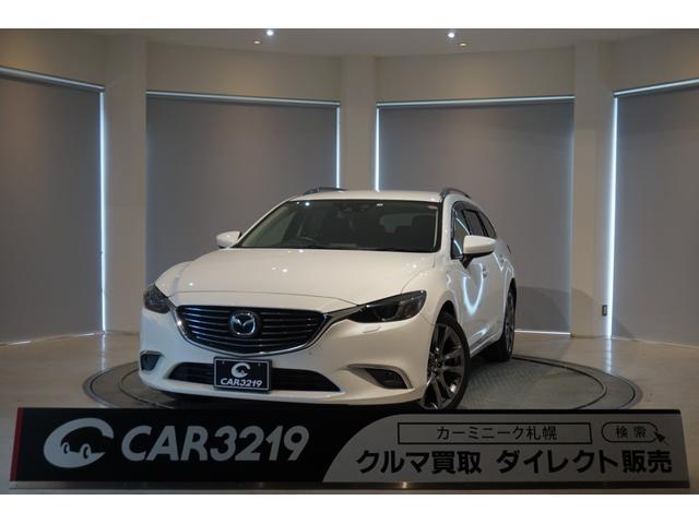 マツダ XD Lパッケージ 4WD 黒本革 純正ナビTV BOSE