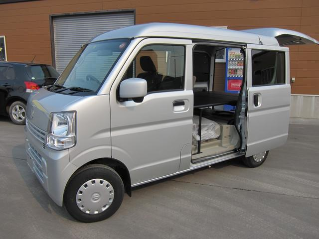 スズキ ジョイン 4WD 車中泊 サブバッテリー べバストヒーター