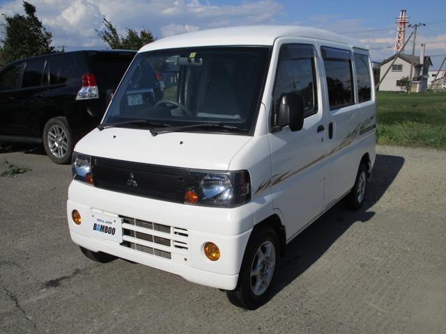 三菱 ミニキャブバン CD ハイルーフ 4WD 夏冬タイヤ付き