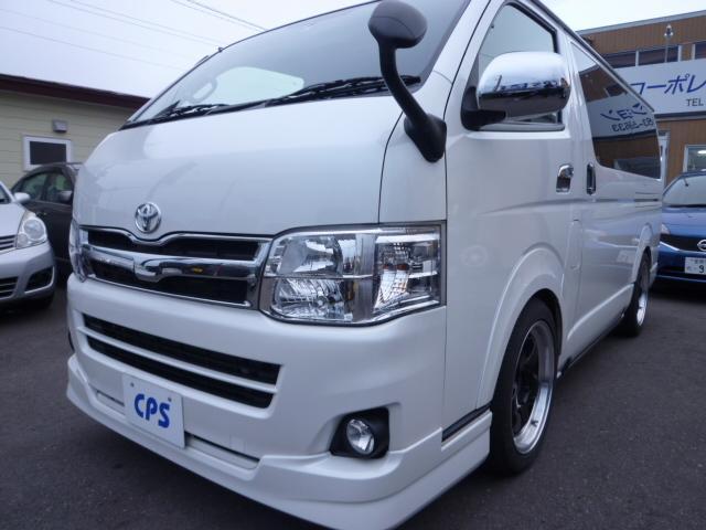 トヨタ ロングスーパーGLプライムセレ 4WD エンスタ ナビ