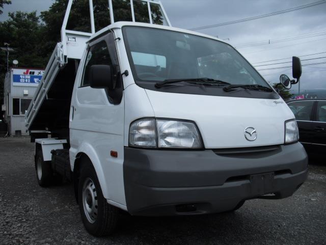 マツダ ボンゴトラック  ダンプ 4WD リアダブルタイヤ 1t積