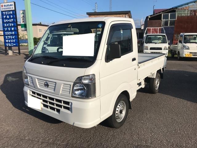 日産 DX農繁仕様 4WD エアコン フロア5MT 軽トラック