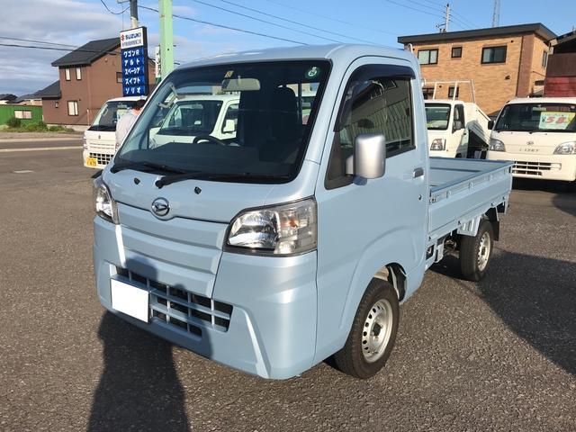 ダイハツ 4WD 三方開 エアコン 5MT 軽トラック CD AUX