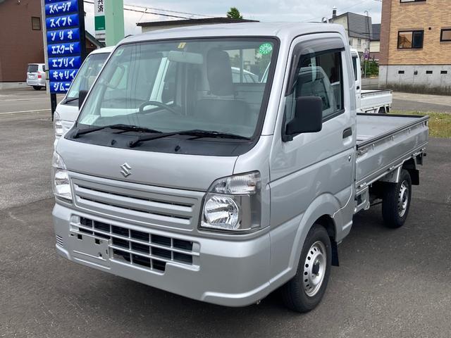 スズキ KCエアコン・パワステ 4WD 5速マニュアル ETC 走行距離7.4万キロ